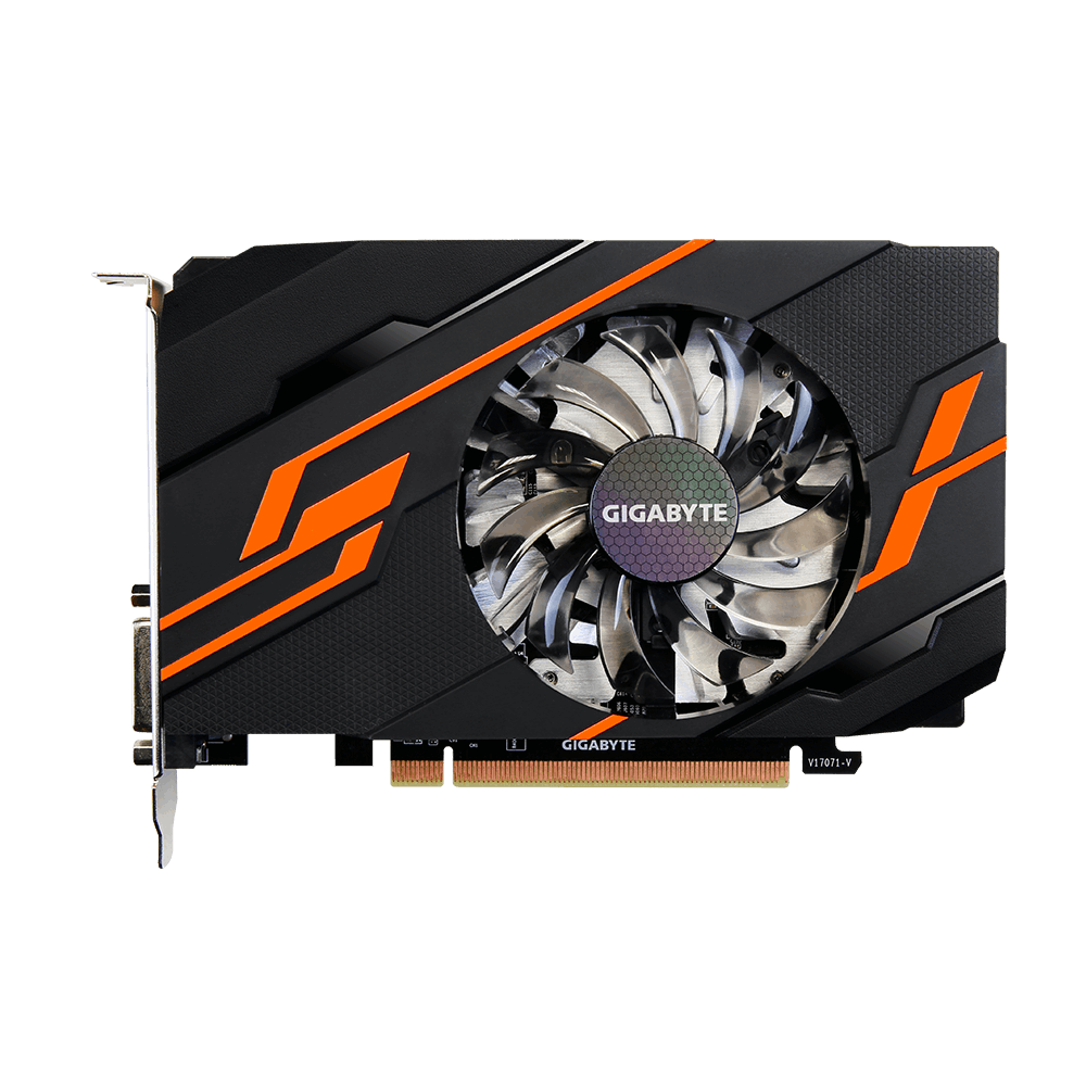 Placa Video Gigabyte GeForce GT 1030 OC 2G 2GB GDDR5 64 biti