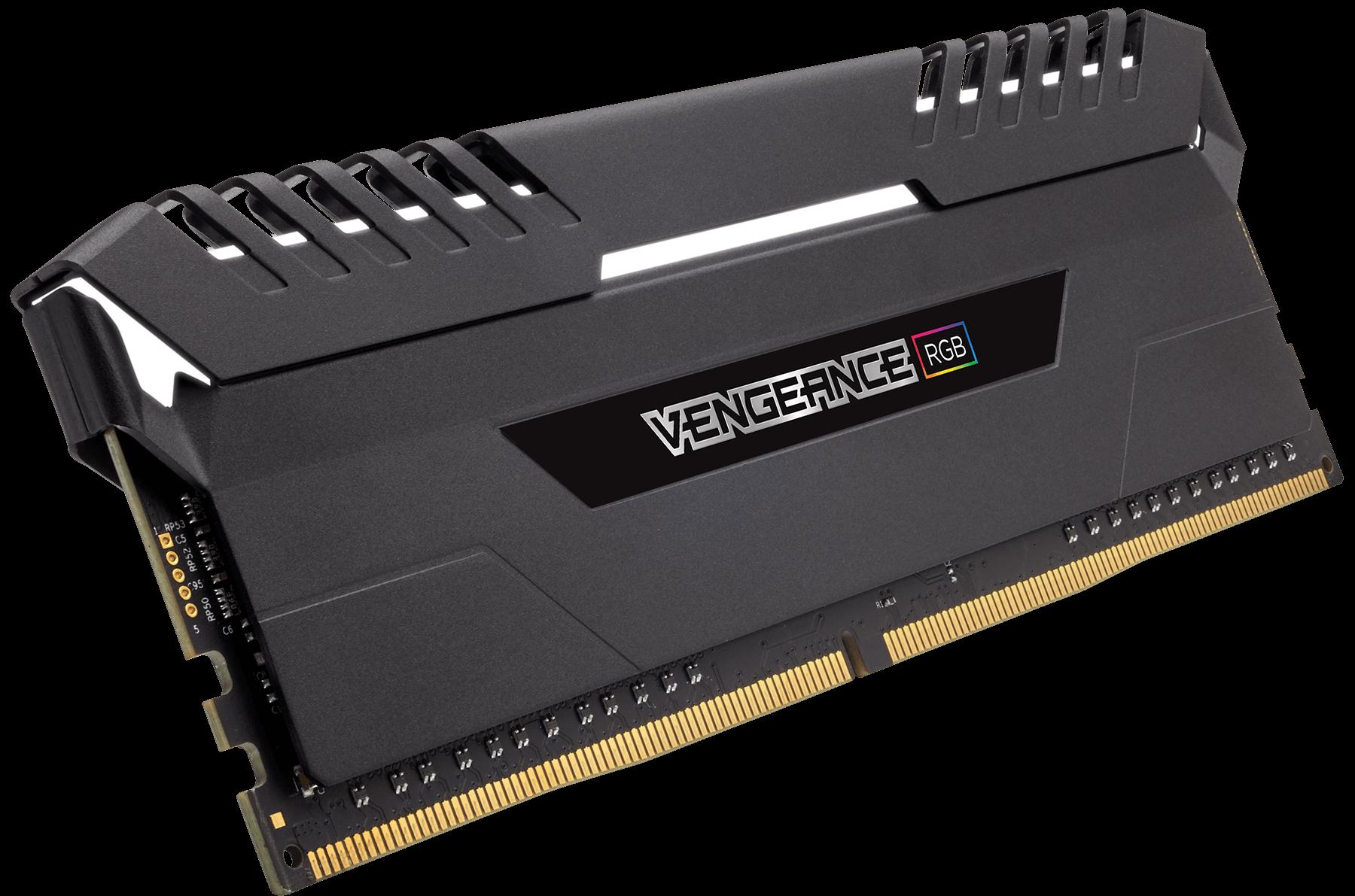 Memorie Desktop Corsair Vengeance RGB 32GB (2 x 16GB) DDR4 3200MHz