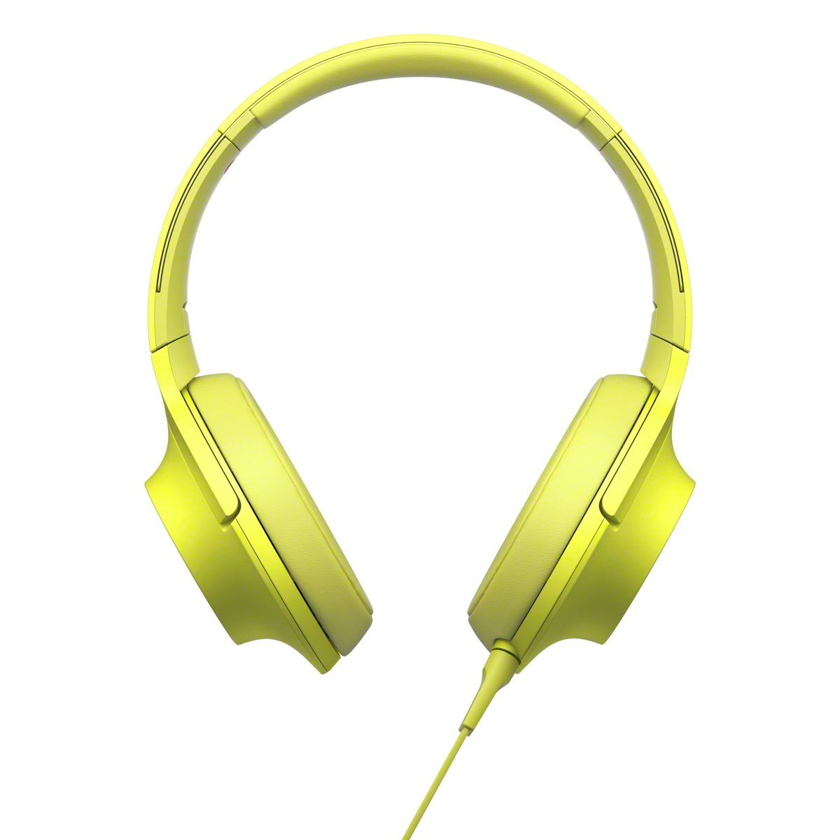 Casti Sony MDR-100AAPY Galben