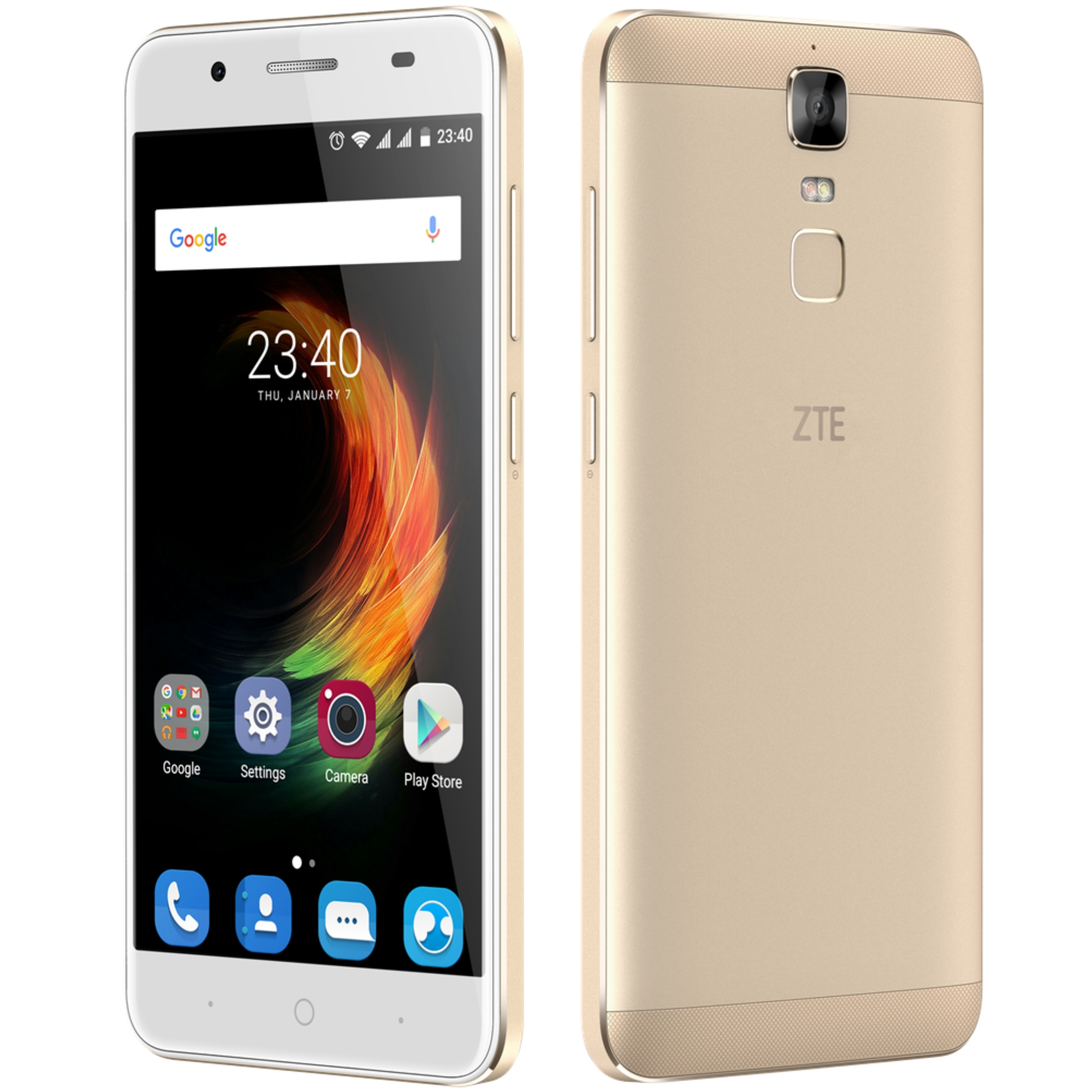 Telefon Mobil ZTE Blade A610 Plus 32GB Flash 4GB RAM Dual SIM 4G Gold