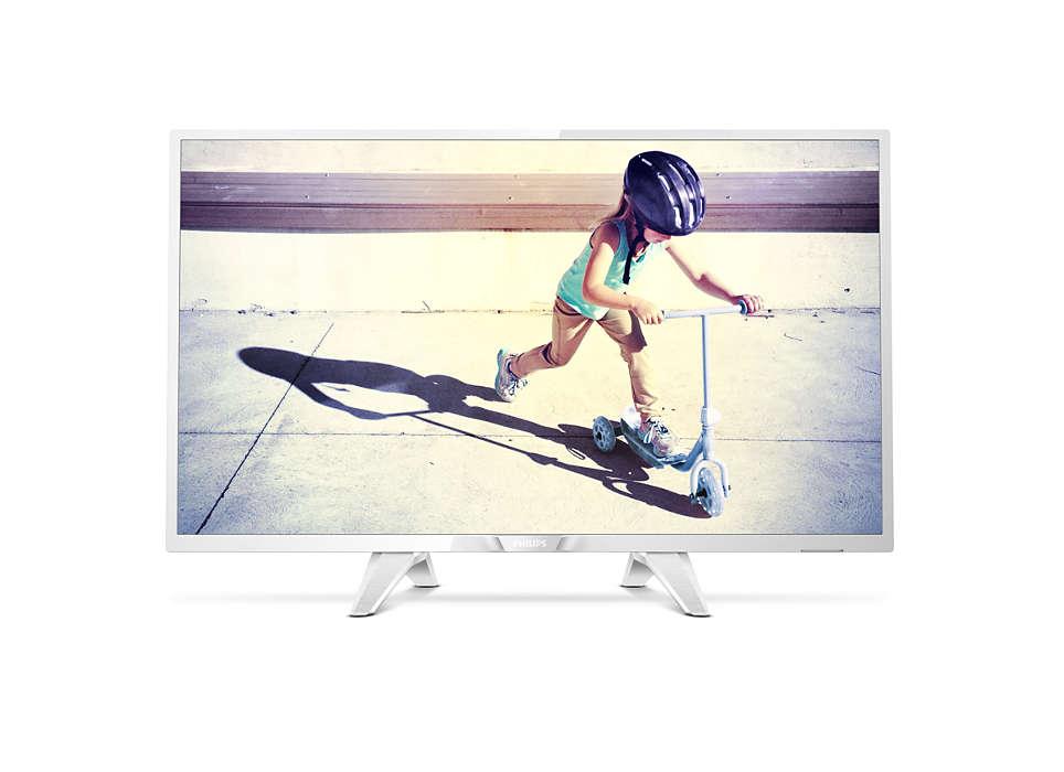 Televizor LED Philips 32PHS4032/12 80cm HD Ready Alb