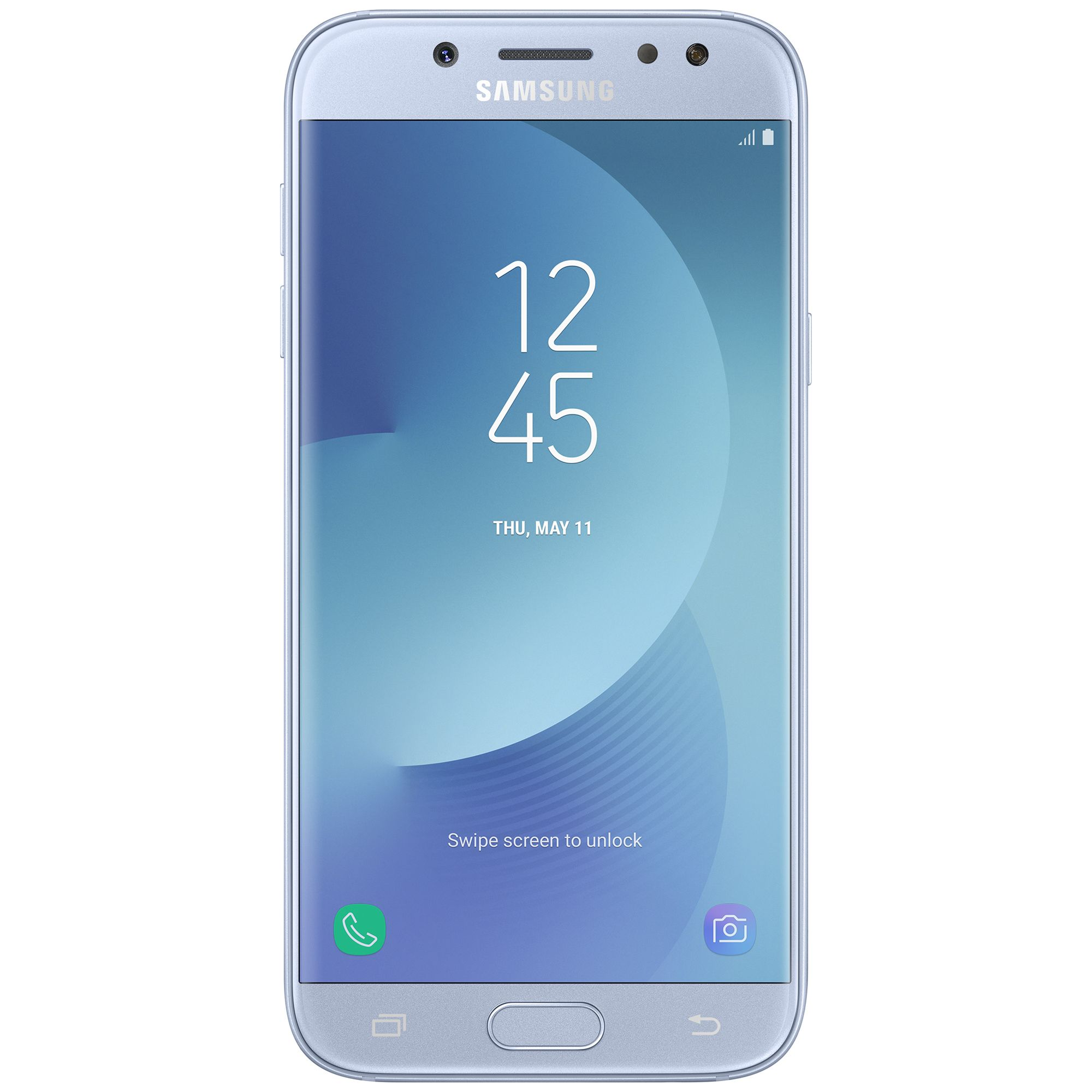 Telefon Mobil Samsung J530 Galaxy J5 (2017) 16GB Flash 2GB RAM Dual SIM 4G Silver Blue