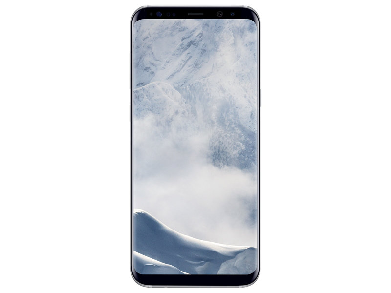 Telefon Mobil Samsung Galaxy S8 Plus G955 64GB Flash 4GB RAM Single SIM 4G Arctic Silver