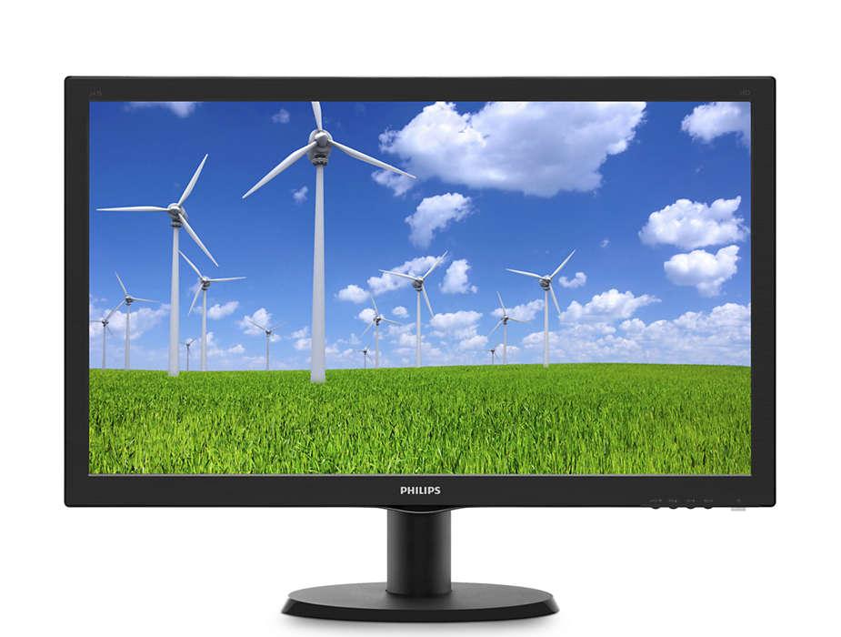 Monitor LED Philips 243S5LSB5 23.6 5ms Full HD Negru