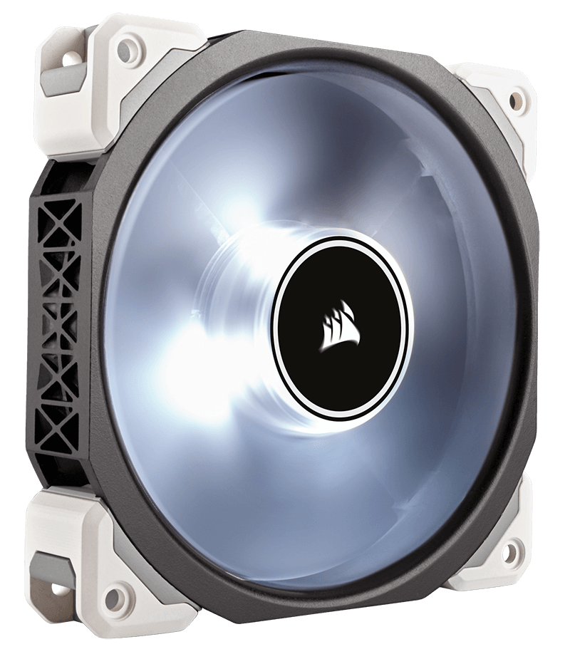 Ventilator Corsair ML120 PRO LED White 120mm PWM Premium Magnetic Levitation