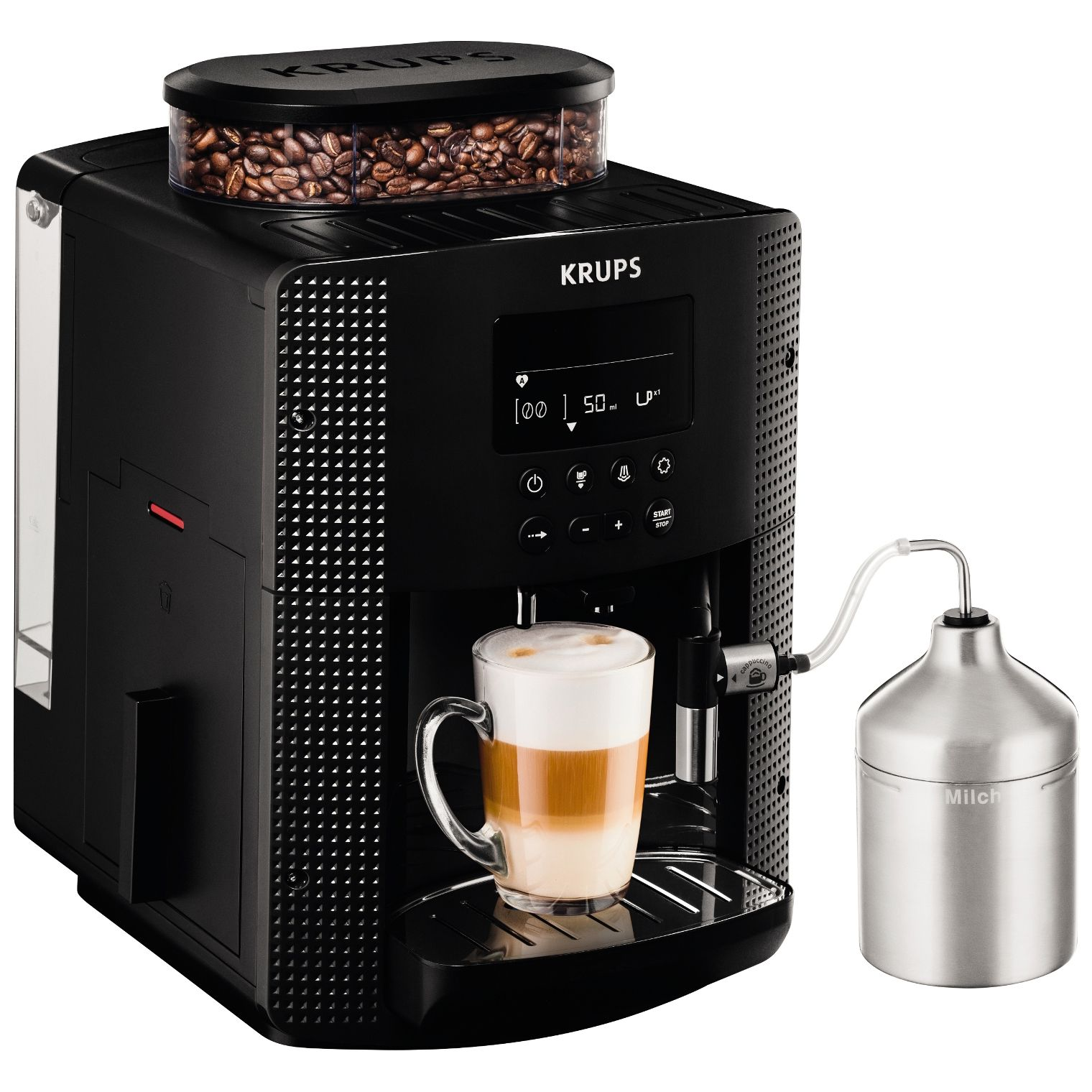 Espressor cafea Krups Espresseria EA8160 1450W 1.7L Negru