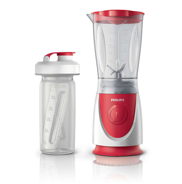 Mini Blender Philips Daily Collection HR2872 Rosu/Alb