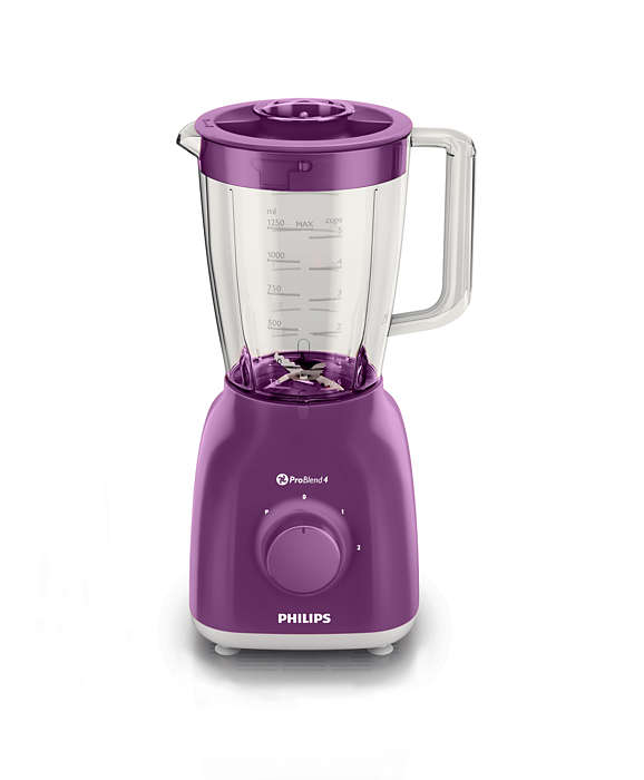 Blender Philips Daily Collection HR2105/60 400W Violet