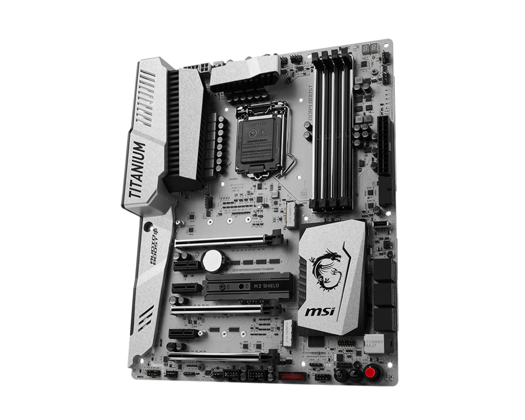 Placa de baza MSI Z270 MPOWER GAMING TITANIUM Socket 1151