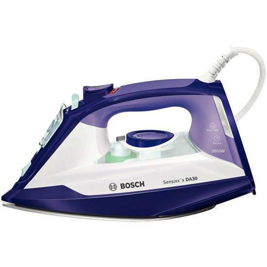 Fier de calcat Bosch Sensixxx DA30 TDA3026110 2600W Alb/Mov