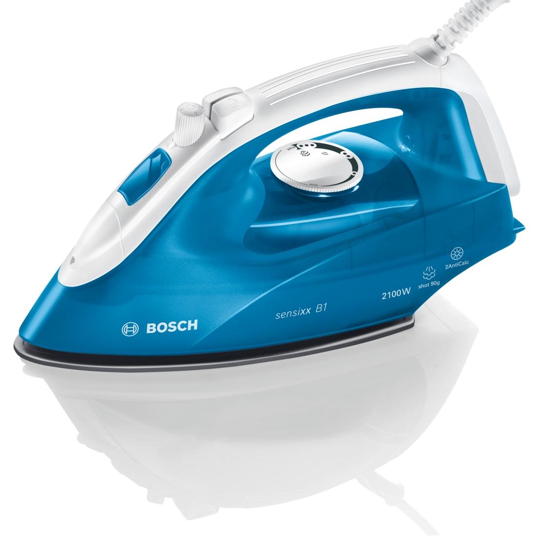 Fier de calcat Bosch TDA2610 2100W Capacitate 290ml Albastru/Alb