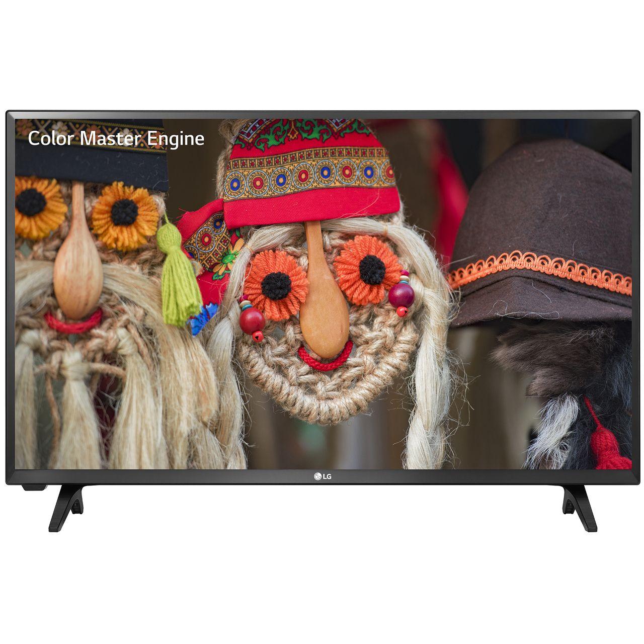 Televizor LED LG 43LJ500V 108cm Full HD Negru