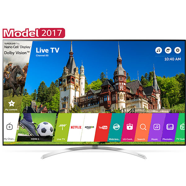 Televizor LED LG Smart TV 60SJ850V 152cm 4K Ultra HD Negru