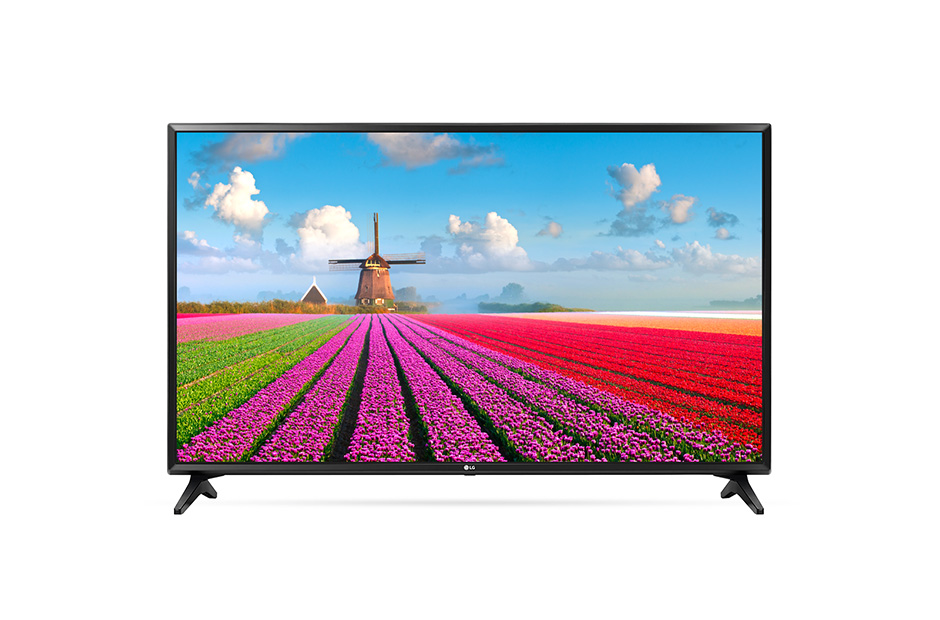 Televizor LED LG Smart TV 49LJ594V 123cm Full HD Negru
