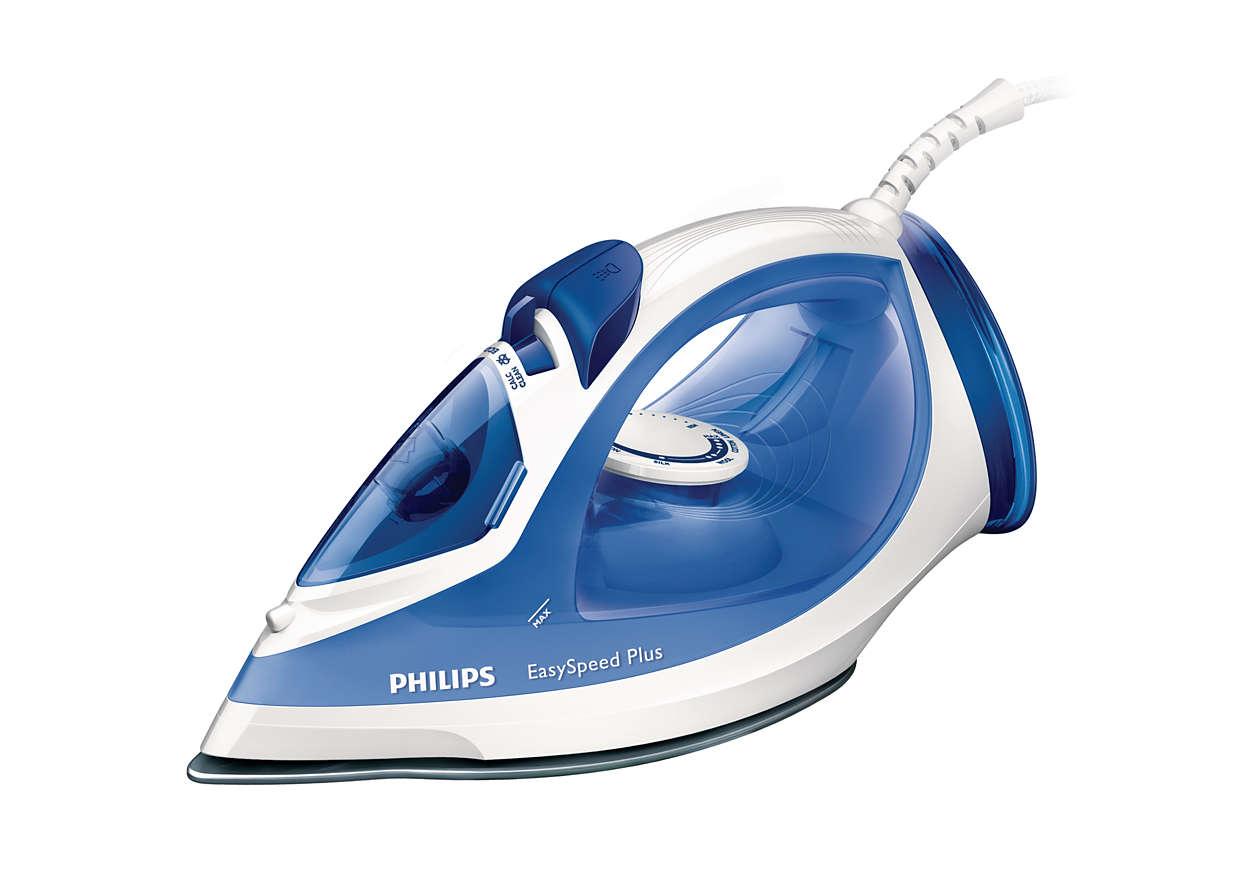 Fier de calcat Philips EasySpeed G2046/20 2200W Capacitate 270ml Alb/Albastru