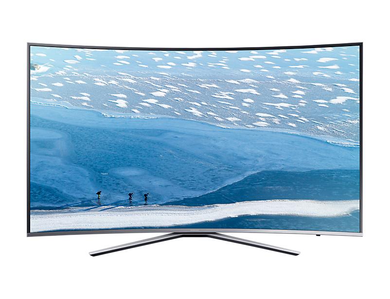 Televizor LED Samsung Smart TV UE78KU6502 Curbat 4K Ultra HD Argintiu