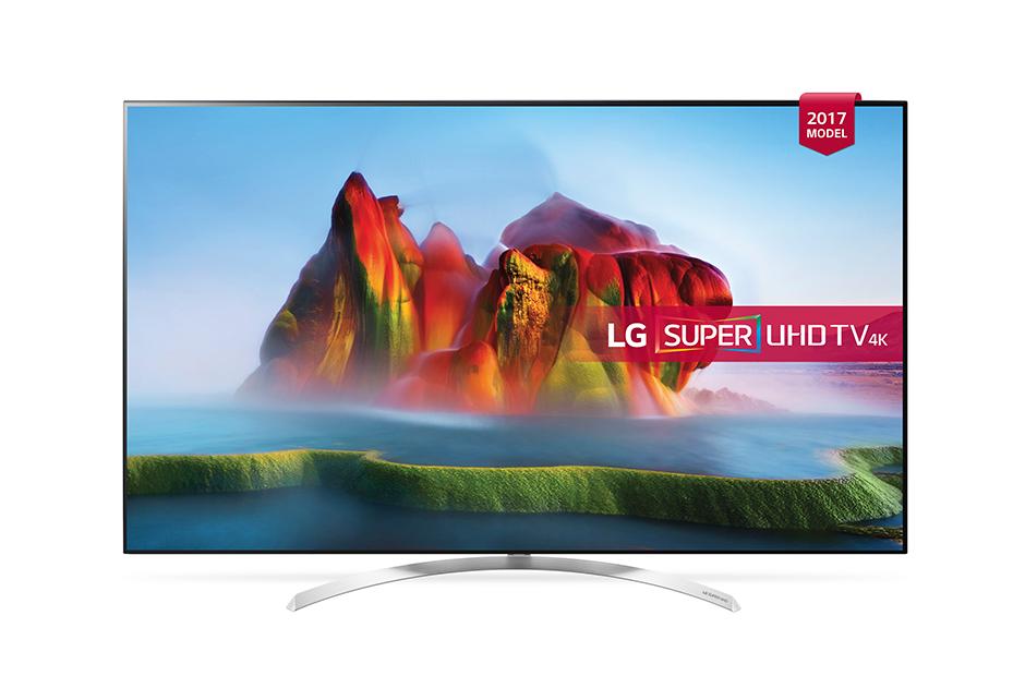 Televizor LED LG Smart TV 65SJ850V 164cm 4K Ultra HD Negru