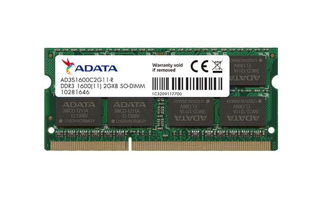 Memorie Notebook A-Data AD3S1600W8G11-R 8GB DDR3 1600MHz