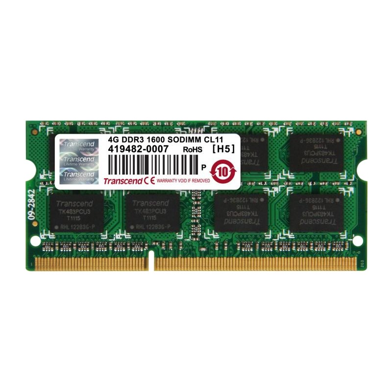 Memorie Notebook Transcend TS512MSK64V6H 4GB DDR3 1600MHz