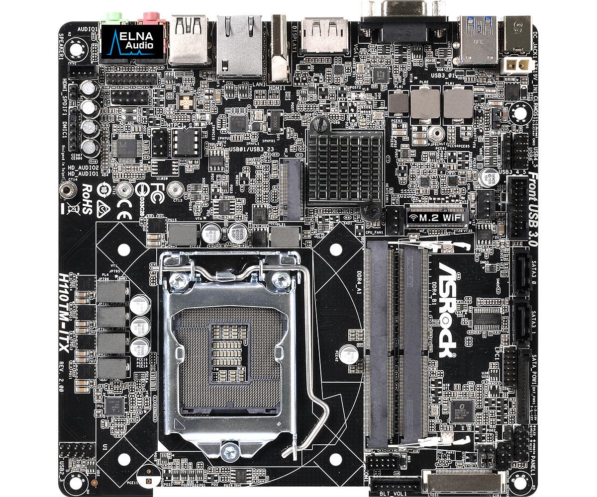 Placa de baza ASRock H110TM-ITX R2.0 Socket 1151