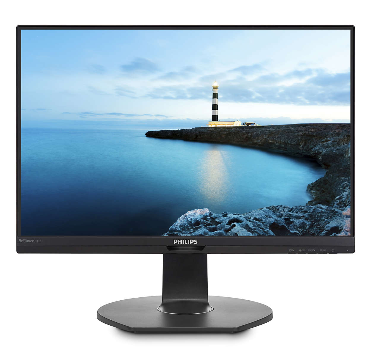 Monitor LED Philips 241B7QPTEB 23.8 5ms Full HD Negru