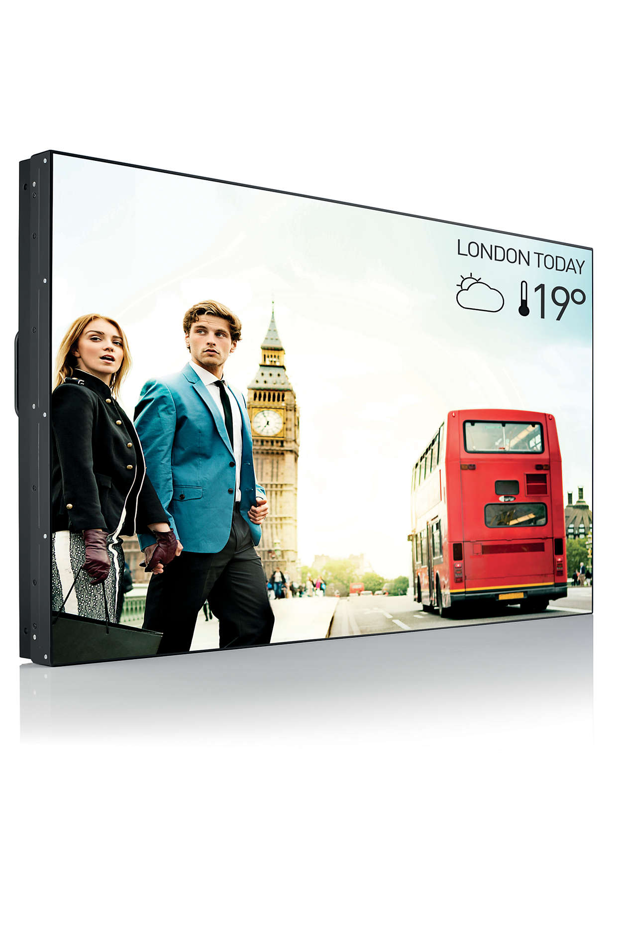 Monitor LED Comercial BDL4988XC 48.5 8ms Full HD