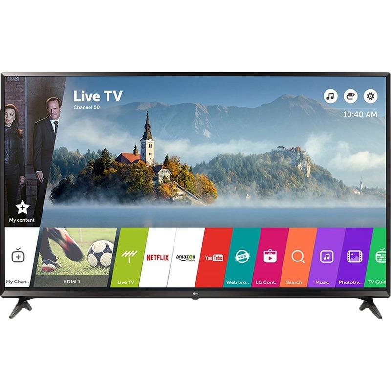 Televizor LED LG Smart TV 60UJ6307 151cm 4K Ultra HD Negru
