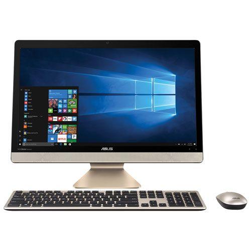 Sistem All-In-One Asus Vivo V221ICUK 21.5 Full HD Intel Core i3-6006U RAM 8GB HDD 1TB Windows 10 Home