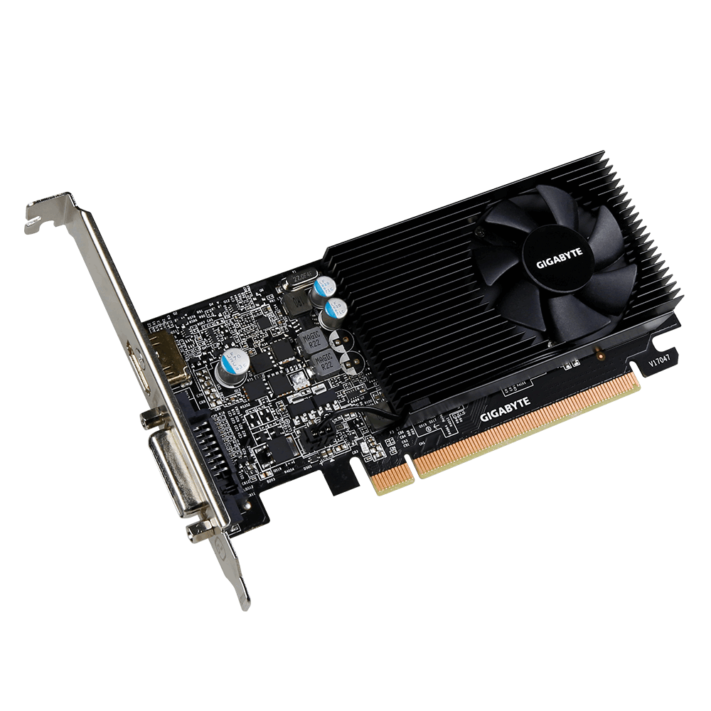 Placa Video Gigabyte nVidia GeForce GT 1030 Low Profile 2GB GDDR5 64 biti