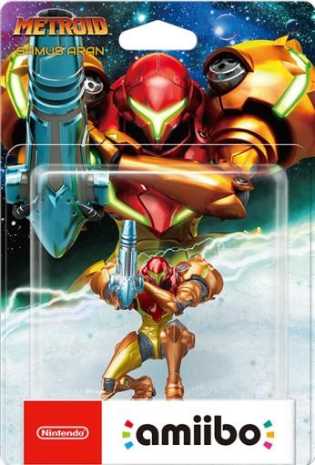 Figurina Amiibo Samus Aran (metroid Samus Returns)