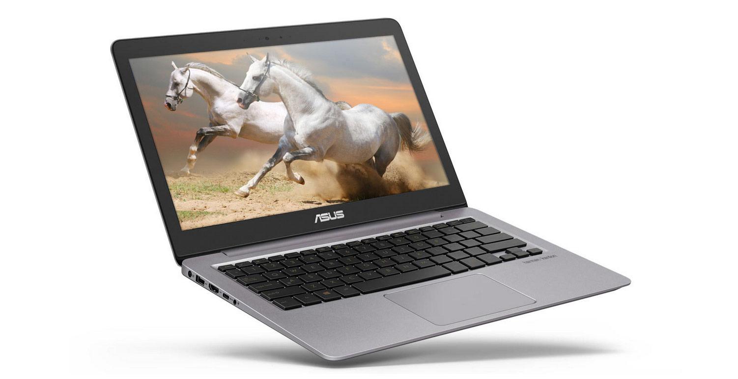 Ultrabook Asus ZenBook UX310UA 13.3 QHD+ Intel Core i7-7500U RAM 16GB HDD 1TB + SSD 256GB Windows 10 Pro Gri