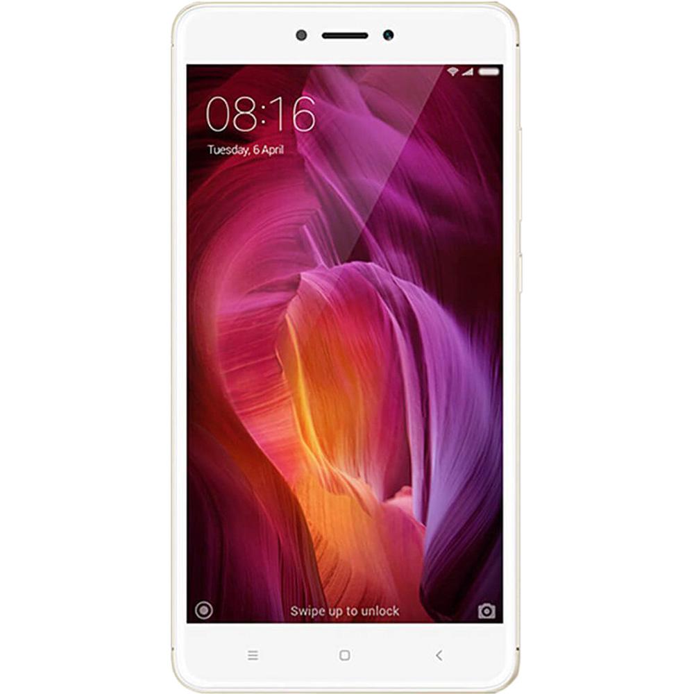 Telefon Mobil Xiaomi Redmi Note 4X 16GB Flash 3GB RAM Dual SIM 4G Gold