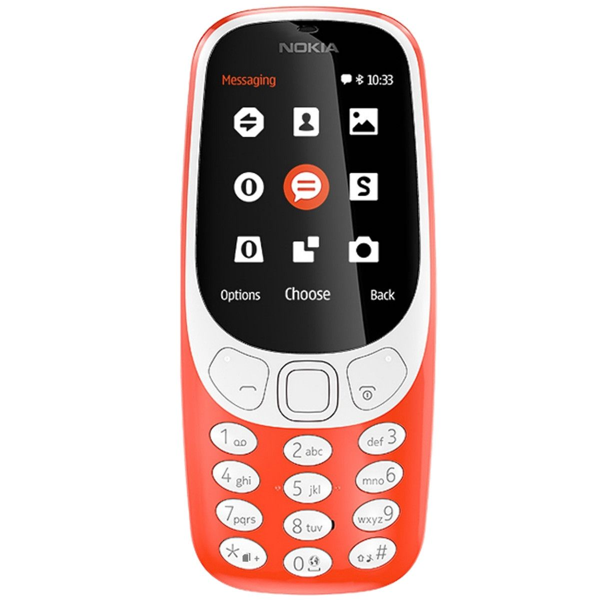 Telefon Mobil Nokia 3310 (2017) Dual SIM Warm Red