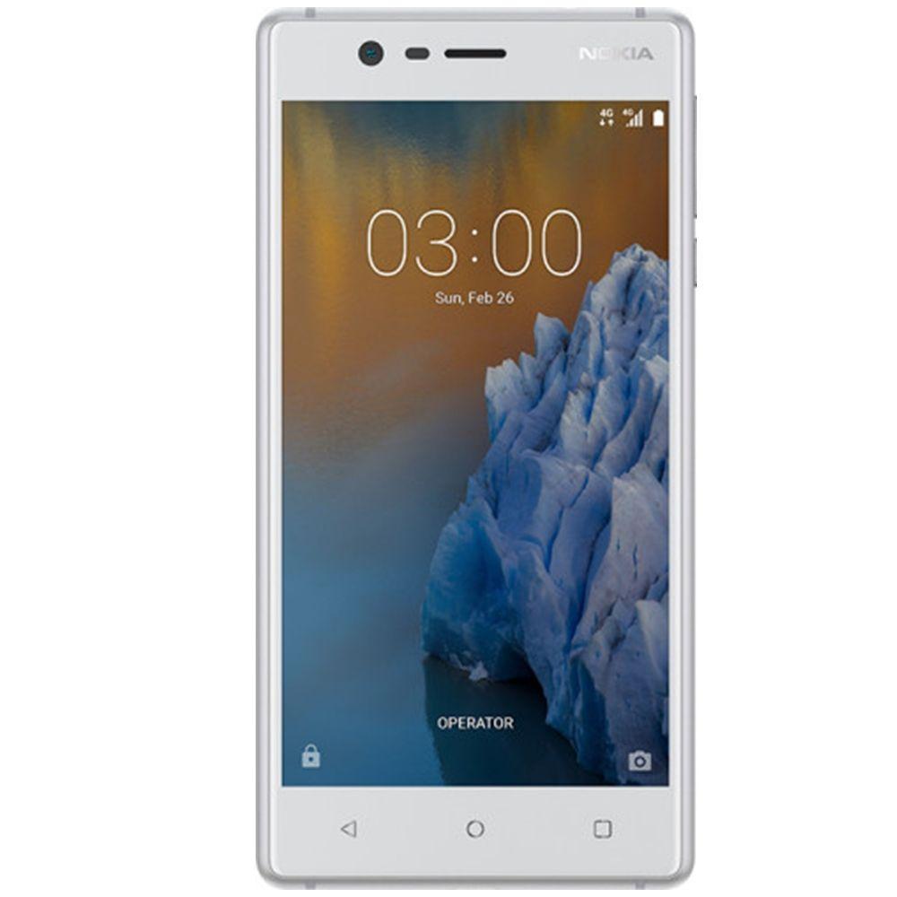 Telefon Mobil Nokia 3 16GB Flash 2GB RAM Dual SIM 4G Silver