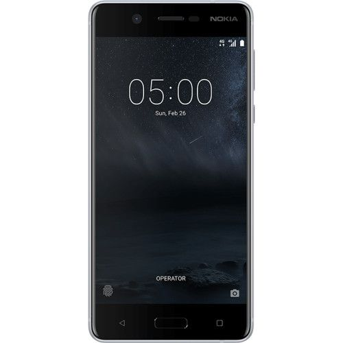 Telefon Mobil Nokia 5 16GB Flash 2GB RAM Dual SIM 4G Silver