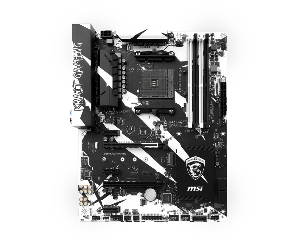 Placa de baza MSI B350 KRAIT GAMING Socket AM4
