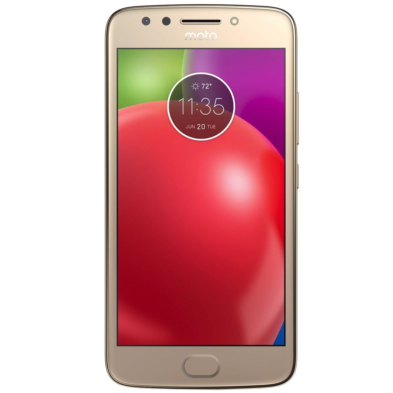 Telefon Mobil Motorola Moto E4 16GB Flash 2GB RAM Dual SIM 4G Gold