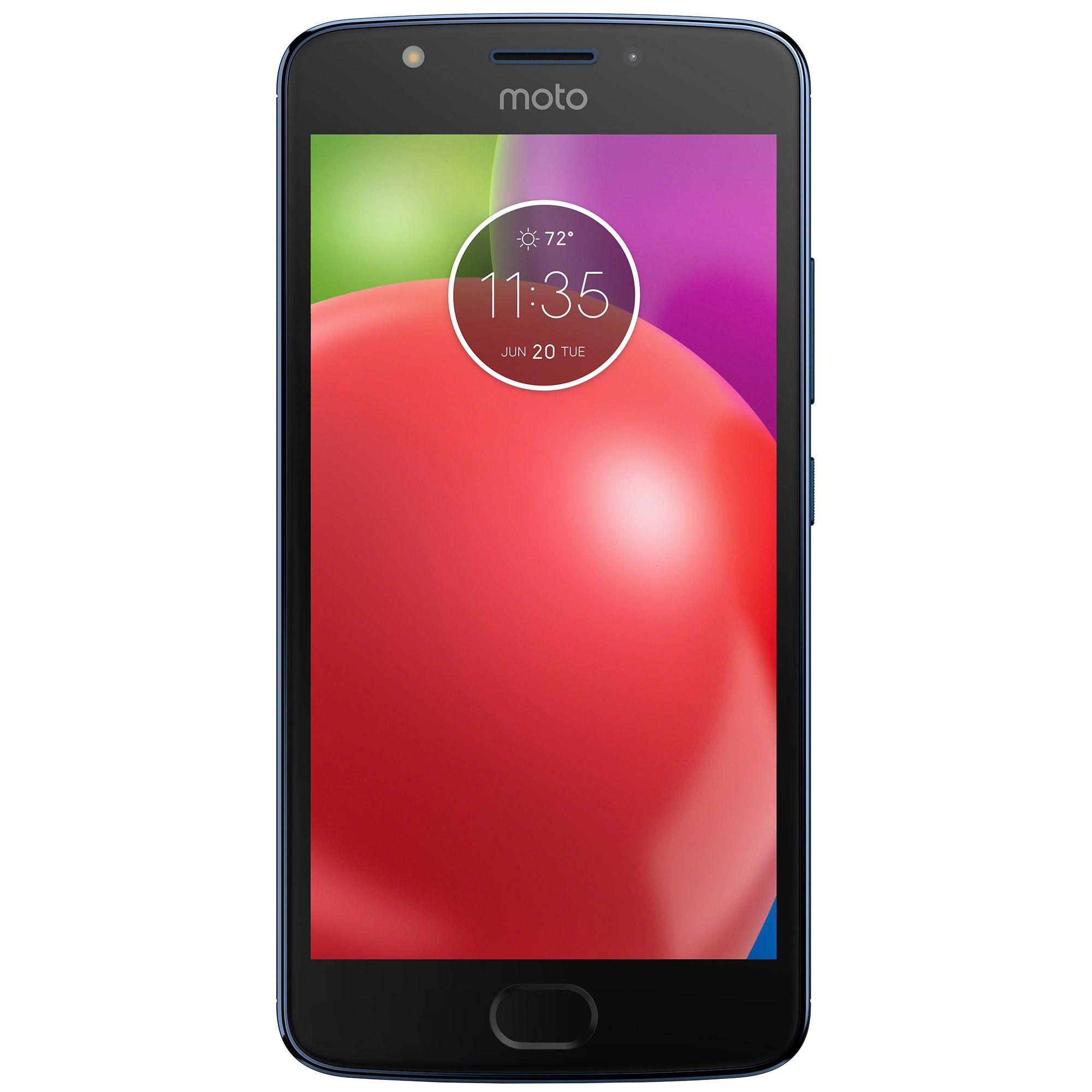 Telefon Mobil Motorola Moto E4 16GB Flash 2GB RAM Dual SIM 4G Blue