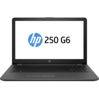 "Notebook HP 250 G6, 15.6"" Full HD, Intel Core i3-6006U, Radeon 520-2GB, RAM 8GB, HDD 1TB, FreeDOS, Negru"
