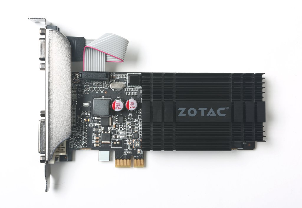 Placa Video Zotac nVidia GeForce GT 710 2GB GDDR5 64 biti