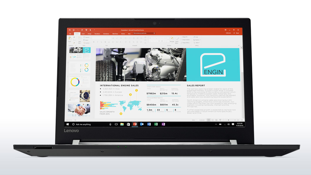 Notebook Lenovo V510 15.6 Full HD Intel Core i5-7200U RAM 8GB SSD 256GB Windows 10 Pro