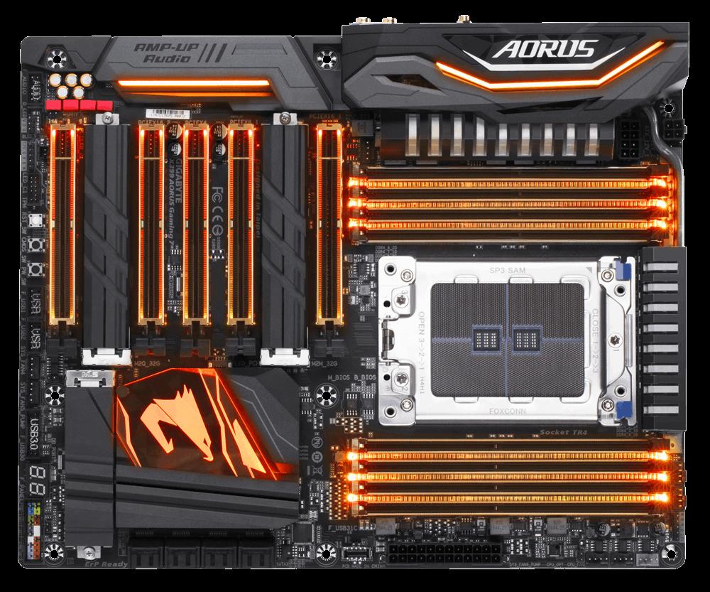 Placa de baza Gigabyte X399 AORUS Gaming 7 Socket TR4