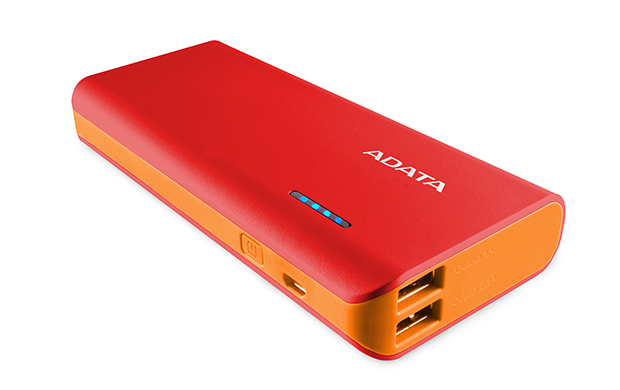 Baterie Externa A-Data PT100 10000 mAh Orange title=Baterie Externa A-Data PT100 10000 mAh Orange