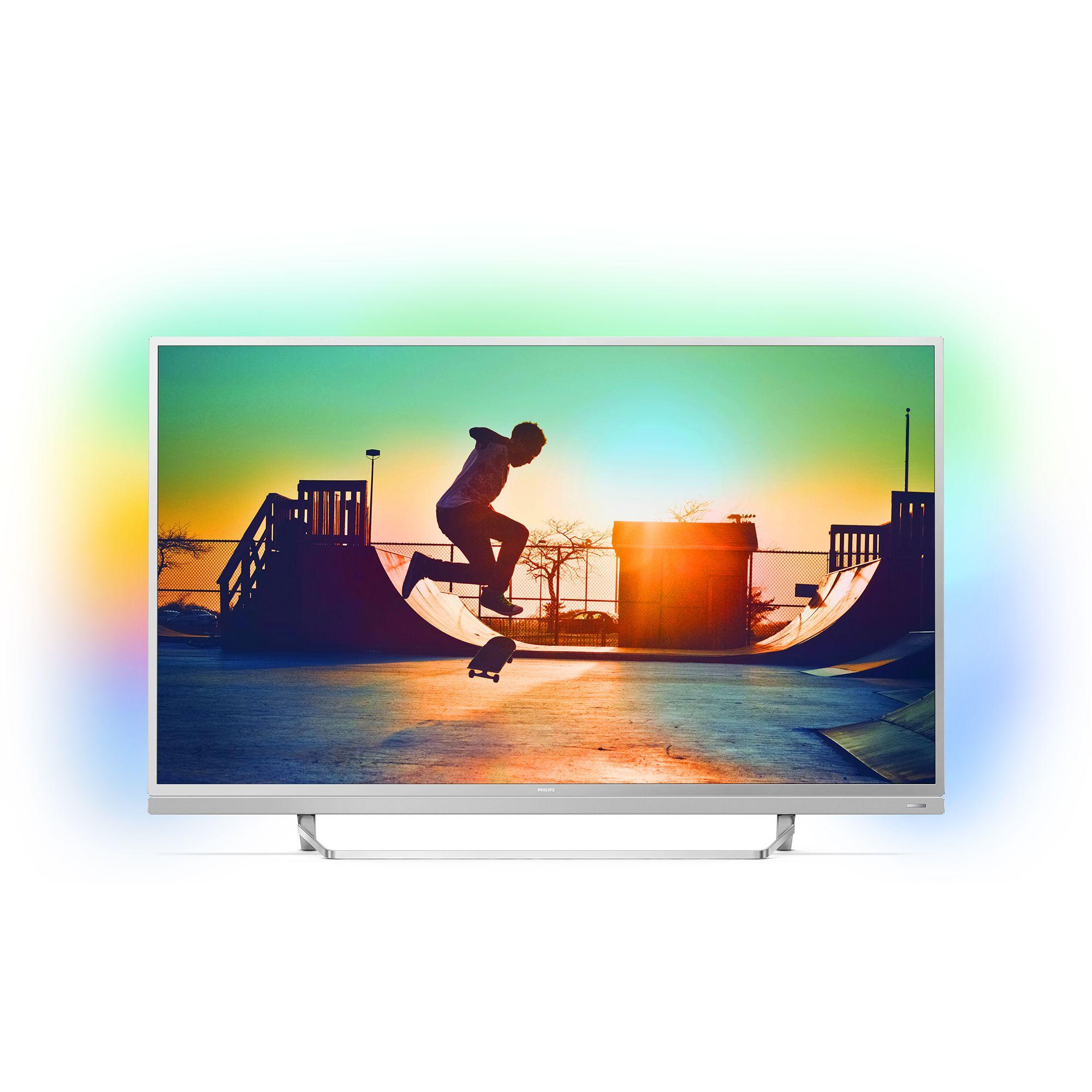 Televizor Smart LED Philips 55PUS6482/12 139cm 4K Android TV
