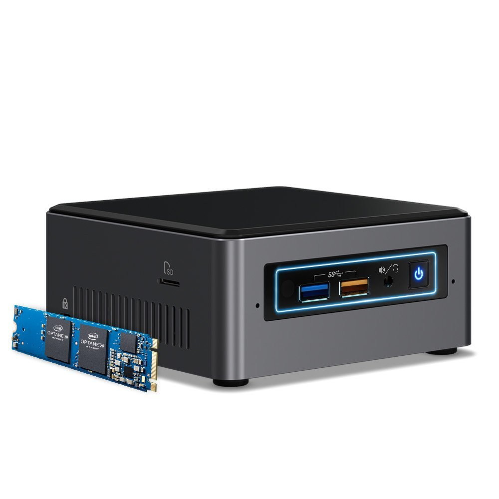 Barebone Intel NUC NUC7I5BNHX1 Intel Core i5-7260U 16GB M.2