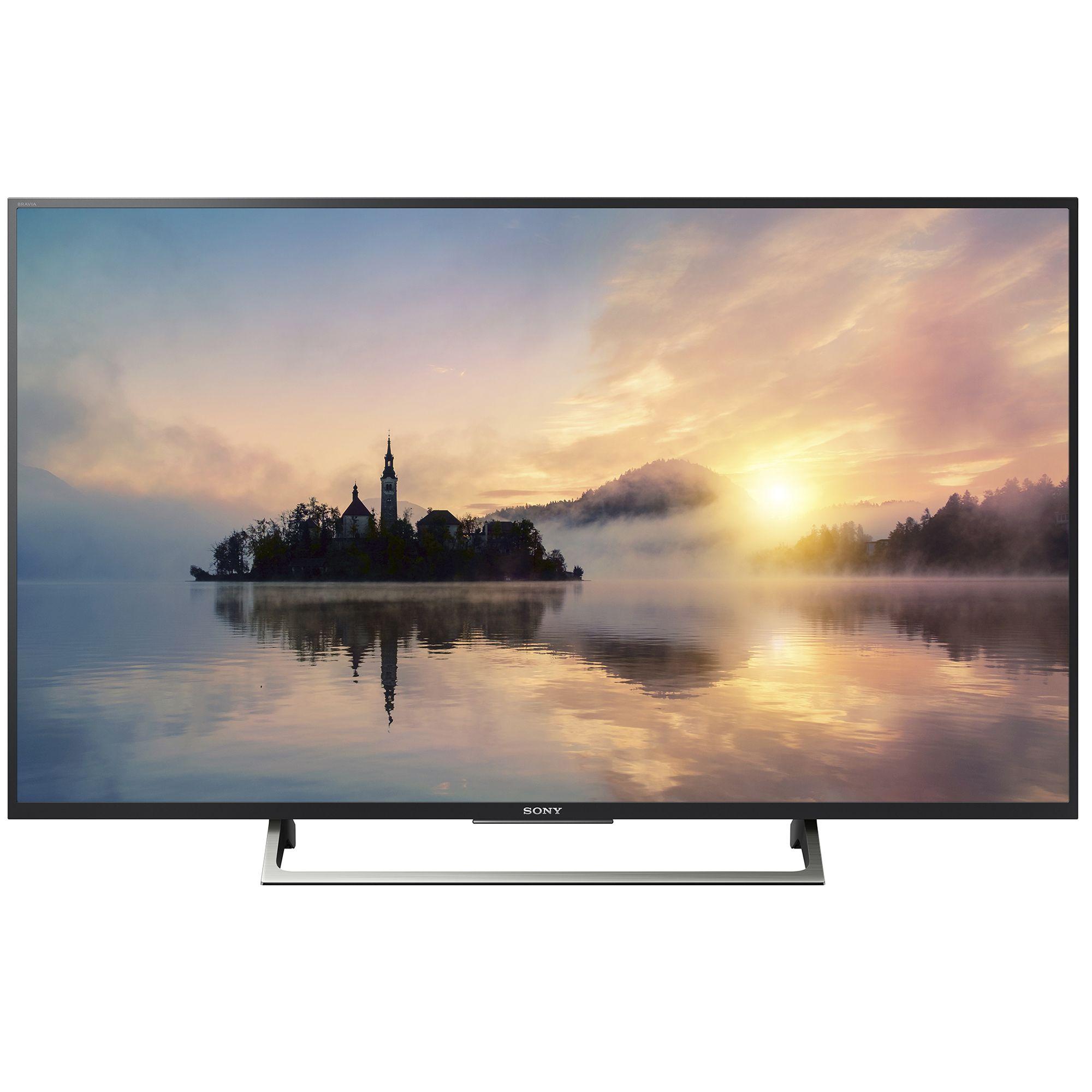 Televizor LED Sony Smart TV 65XE7005 164cm Ultra HD 4K Negru