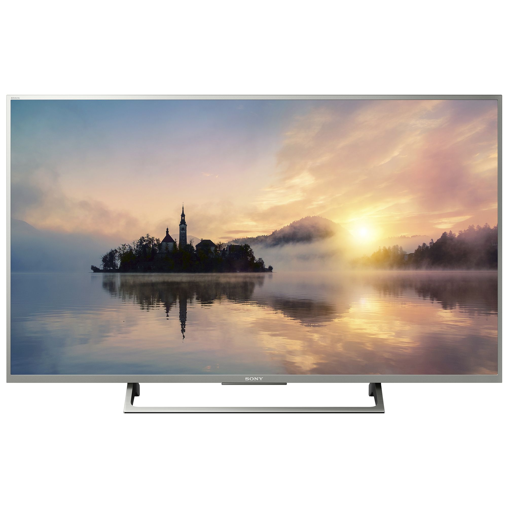 Televizor LED Sony Smart TV 49XE7077 123cm Ultra HD 4K Argintiu