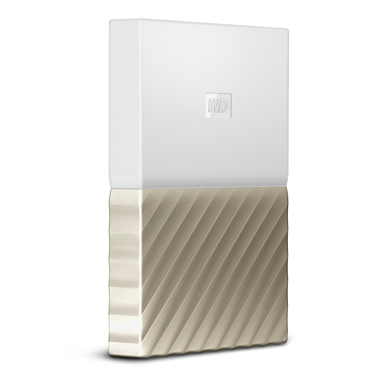 Hard Disk Extern Western Digital My Passport Ultra 4TB White-Gold