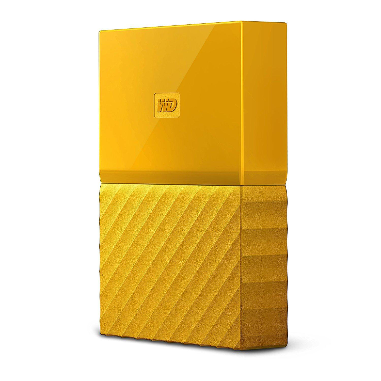 Hard Disk Extern Western Digital My Passport 4TB USB 3.0 Yellow