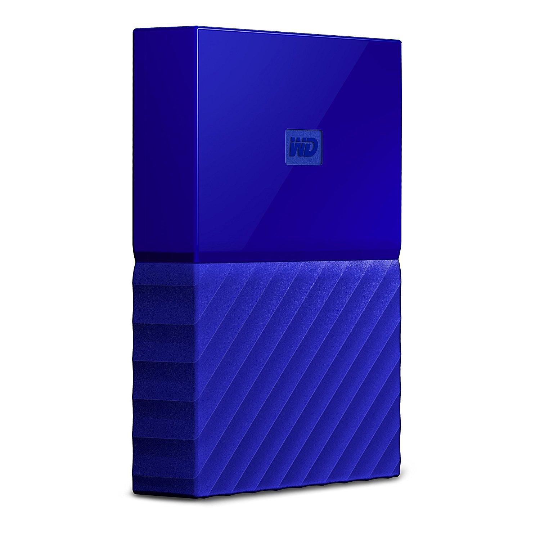 Hard Disk Extern Western Digital My Passport 4TB USB 3.0 Blue